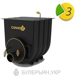 Отопительная печь булерьян Canada тип 01 с плитой (в рассрочку 0%)