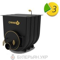 Отопительная печь булерьян Canada тип 02 с плитой (в рассрочку 0%)