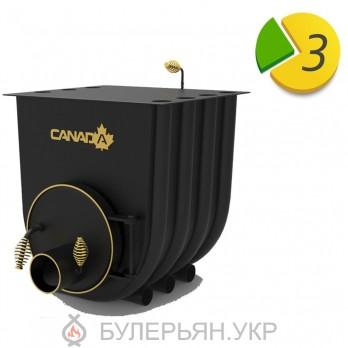 Отопительная печь булерьян Canada тип 03 с плитой (в рассрочку 0%)