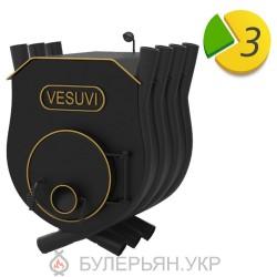 Отопительная печь булерьян Vesuvi тип 02 с плитой (в рассрочку 0%)