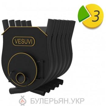 Отопительная печь булерьян Vesuvi тип 03 с плитой (в рассрочку 0%)