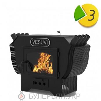 Печь булерьян-камин Vesuvi 01 тип 01 на дровах (в рассрочку 0%)