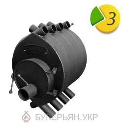 Опалювальна піч булер'ян коминок ПК-00 тип 00 (в розстрочку 0%)