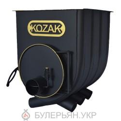 Калориферная печь булерьян Kozak тип 02 с плитой