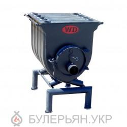 Отопительная печь булерьян Widzew тип 01 с плитой