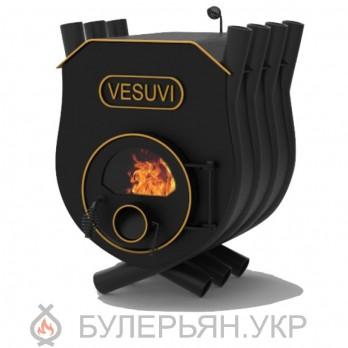 Печка булерьян Vesuvi тип 01 с плитой и стеклом