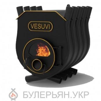 Печка булерьян Vesuvi тип 02 с плитой и стеклом