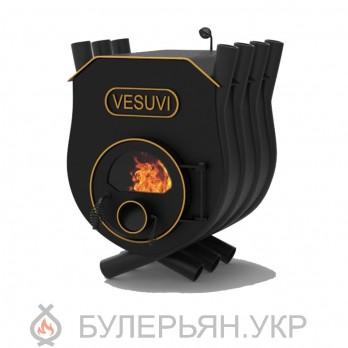 Печка булерьян Vesuvi тип 00 с плитой и стеклом