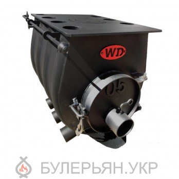 Отопительная печь булерьян Widzew 15 500 тип 0.05 с плитой