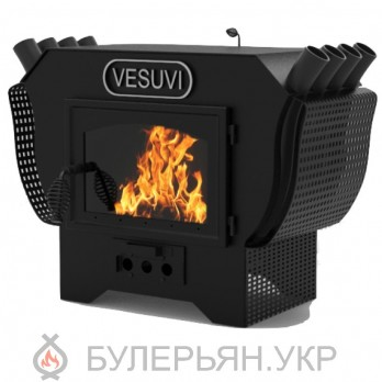 Печь булерьян-камин Vesuvi 01 тип 01 на дровах