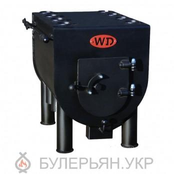 Буржуйка-булерьян Widzew Техно тип 0.05 с плитой