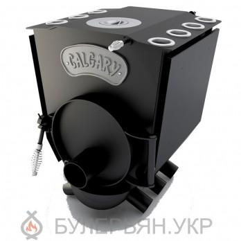 Печь булерьян Новаслав Calgary lux ПО-Б 00 ЧК тип 00 с чугунной конфоркой