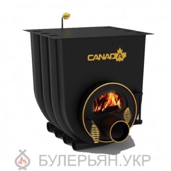Печка булерьян Canada тип 03 с плитой и стеклом