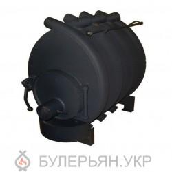 Калориферная печь булерьян ПК Огонек тип 01 сталь 4 мм