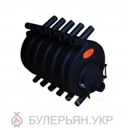 Калориферная печь булерьян ПК Огонек тип 02 сталь 4 мм