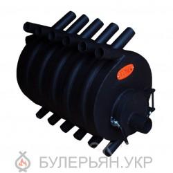 Калориферна піч булер'ян ПК Вогник тип 03 сталь 4 мм