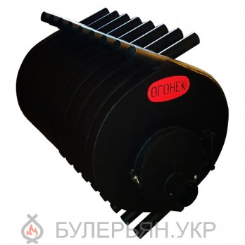 Калориферная печь булерьян ПК Огонек тип 04 сталь 4 мм