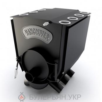 Канадская печь булерьян Новаслав Vancouver lux ПО-Б 01 тип 01 с плитой