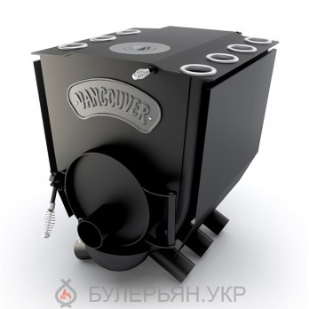 Піч булер'ян Новаслав Vancouver lux ПО-Б 01 ЧК тип 01 з чавунною конфоркою