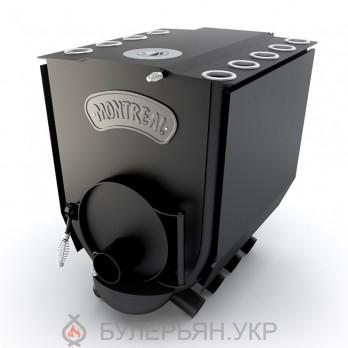 Піч булер'ян Новаслав Montreal lux ПО-Б 02 ЧК тип 02 з чавунною конфоркою
