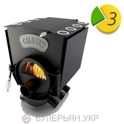 Булерьян Новаслав Calgary lux ПО-Б 00 С тип 00 с плитой и стеклом (в рассрочку 0%)