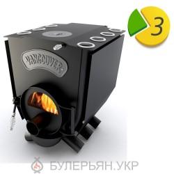 булер'ян Новаслав Vancouver lux ПО-Б 01 ЧК.С тип 01 з конфоркою і склом (в розстрочку 0%)