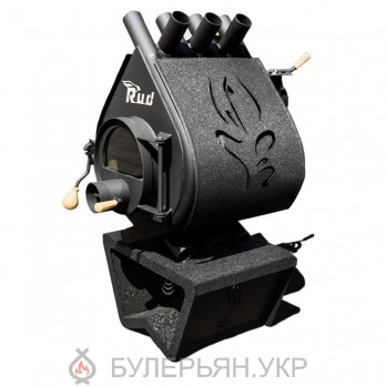Булерьян RUD Pyrotron Кантри тип 00 со стеклом + обшивка