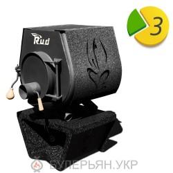 Опалювальна піч булер'ян RUD кантрі тип 00 з плитою (в розстрочку 0%)
