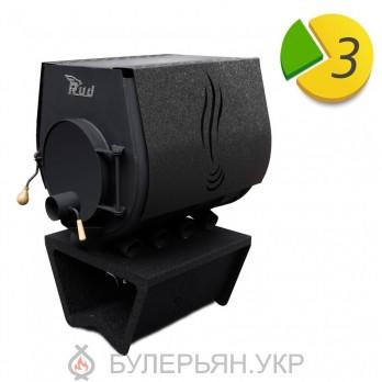 Опалювальна піч булер'ян RUD кантрі тип 02 з плитою (в розстрочку 0%)