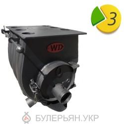 Отопительная печь булерьян Widzew 15 500 тип 00 с плитой (в рассрочку 0%)