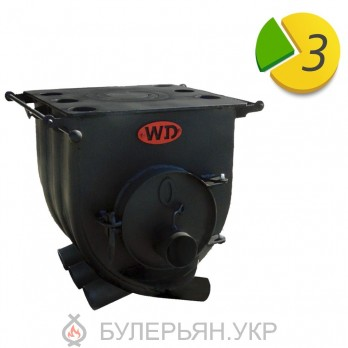 Отопительная печь булерьян Widzew тип 00 с плитой (в рассрочку 0%)