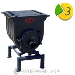 Отопительная печь булерьян Widzew тип 01 с плитой (в рассрочку 0%)
