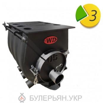 Отопительная печь булерьян Widzew 15 500 тип 0.05 с плитой (в рассрочку 0%)