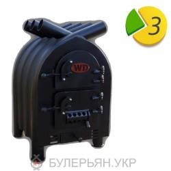 Печь булерьян Widzew Tepla Hata тип 01 с духовкой без дверци (в рассрочку 0%)