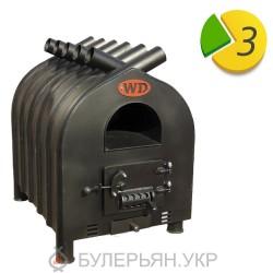 Печь булерьян Widzew Tepla Hata тип 02 с духовкой без дверци (в рассрочку 0%)